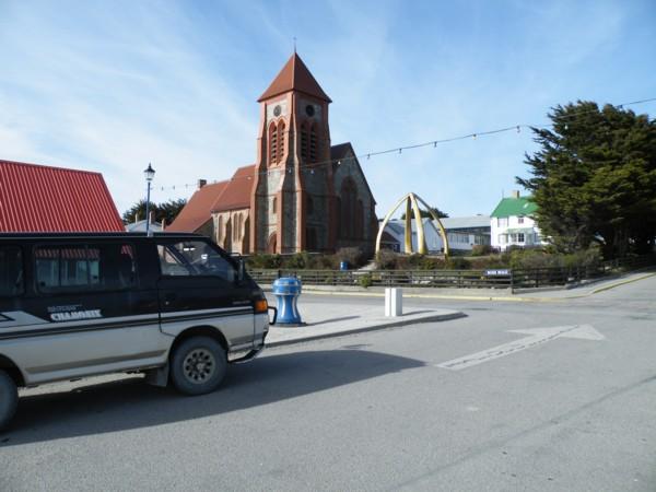 Mitsi at Christchurch Cathedral