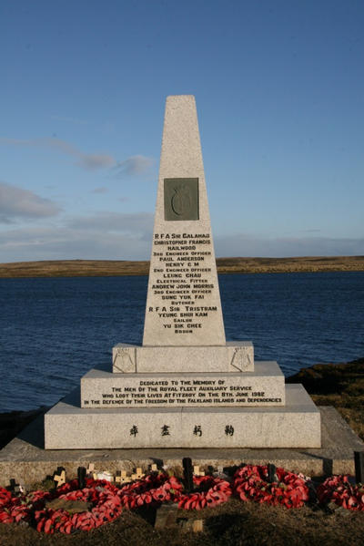 RFA Sir Galahad Memorial