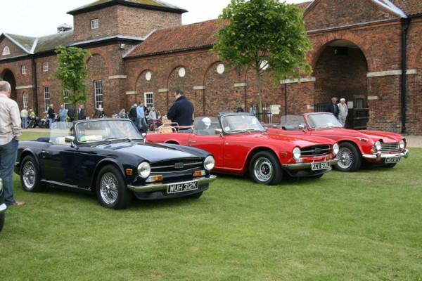 Triumph TR6s and TR4A