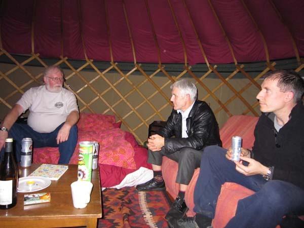 Talks in a Yurt
