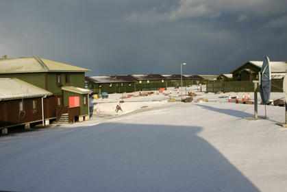 Snow at MPA