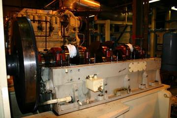 Flywheel,Crank and Crankcase