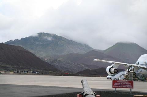 Hills at Ascension Island