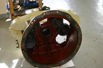 Pump gearcase