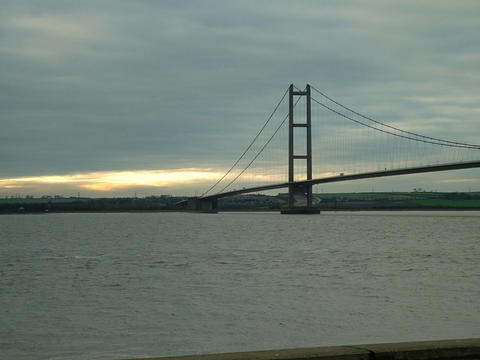 Looking South across the Humber