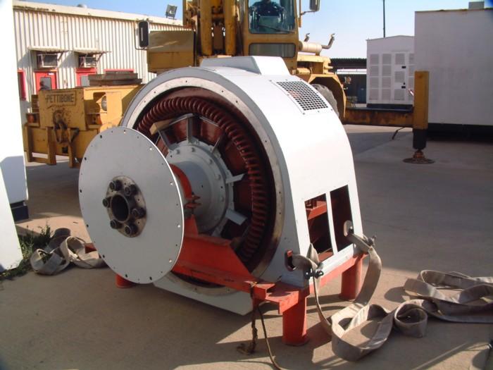 GEC  4160Volt 1.25 Mw Alternator on site