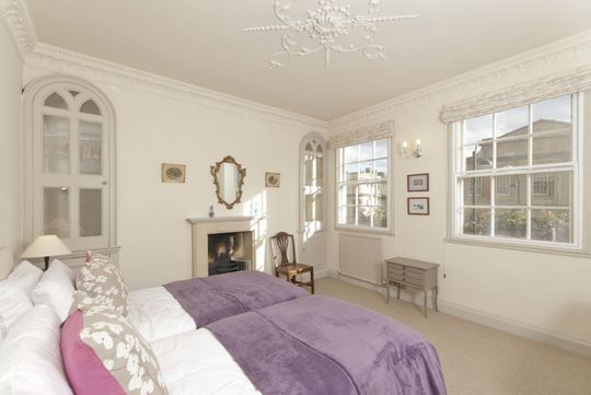 ONE OF OUR HOLIDAY LETS BEDROOMS