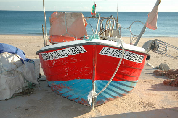 Salema fishing boat