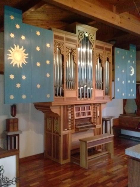 St. Andrewu0027s 2m pipe organ & Lee T. Lovallo Pipe Organs