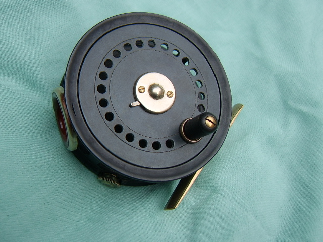 HOLBROW & CO, 40, DUKES STREET, LONDON, 3 INCH FLY REEL, CIRCA 1925