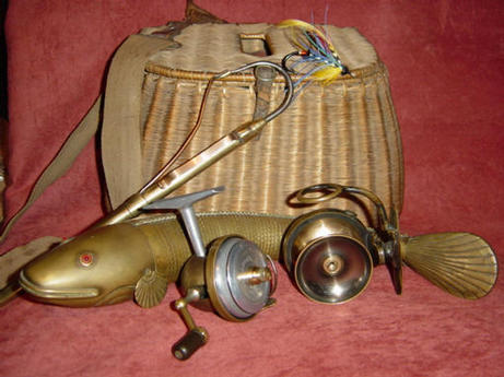 A collection of high quality vintage fishing tackle.