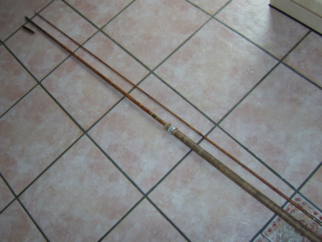 A Poor condition but rare Chubbs of Edgeware MK IV 'Special' Carp rod.