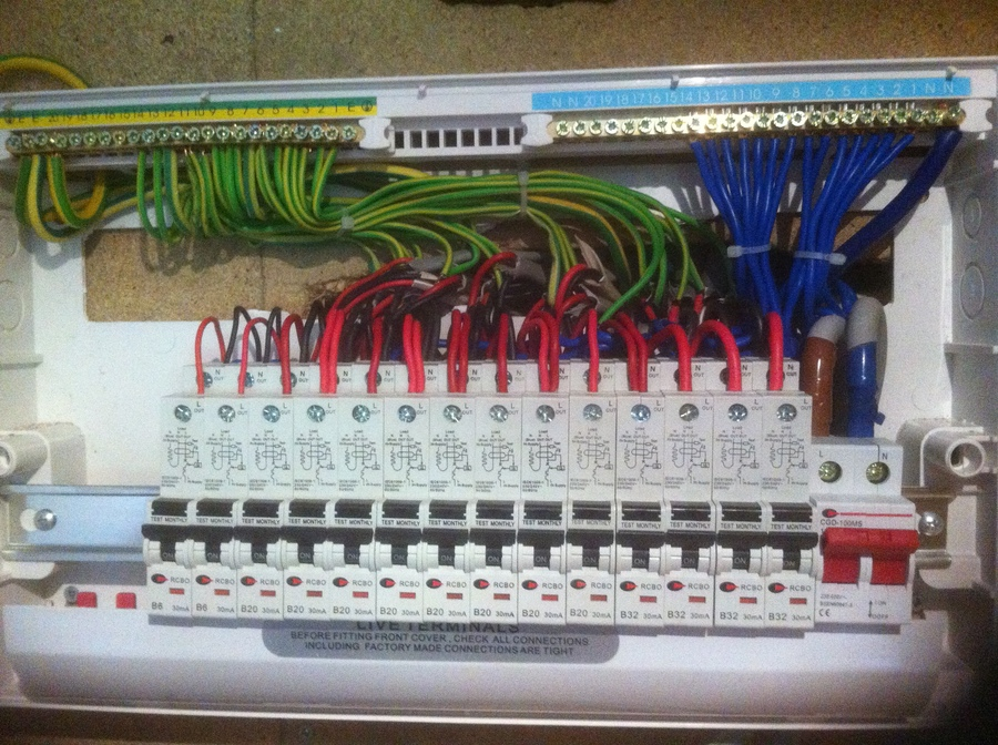 Excellent New Consumer Units Wiring Digital Resources Funapmognl
