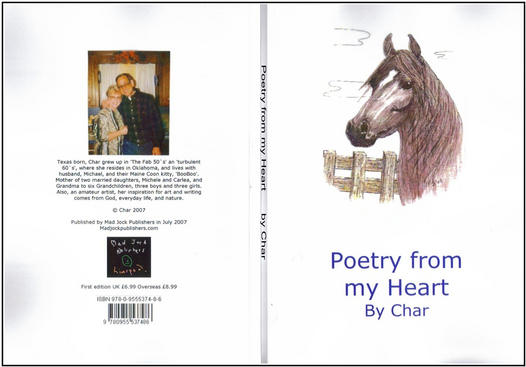 front cover of Poetry from my Heart