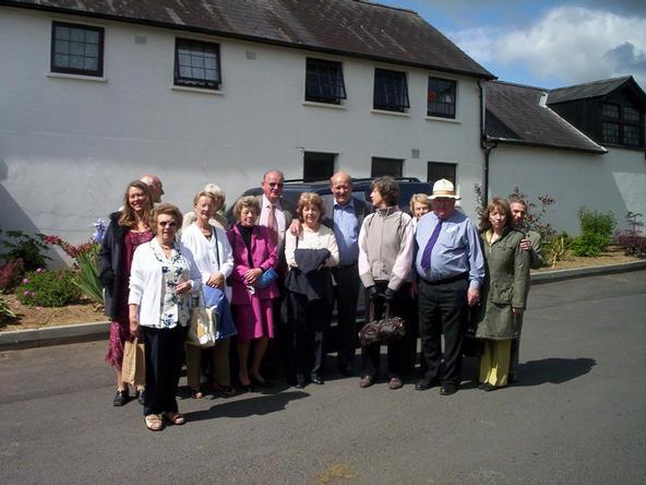 members at the National Stud at Kildare Ireland