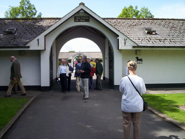 Entry to the Sun Chariot Yard