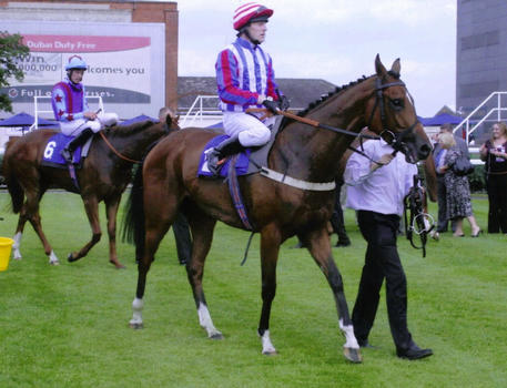 Top jockey gives Double-R-Racing it's first winner