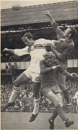 Richard Reynolds in action for Plymouth Argyle 1969 ish