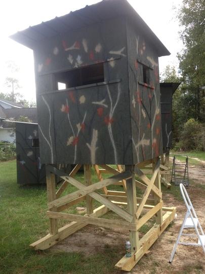 Perfect Deer Hunting Shooting Houses