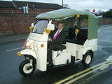 tuktuks and eco friendly rickshaws for your wedding we. Black Bedroom Furniture Sets. Home Design Ideas