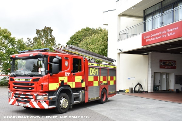 5ecde106a2b On Monday the 27th of August we visited Blanchardstown Fire Station