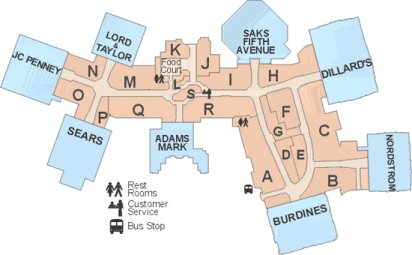 Map Of Florida Mall.Shopping