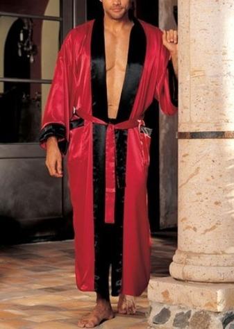 2c64fba55d Mens sleepwear mens robe jpg 337x474 Red silk robe for men